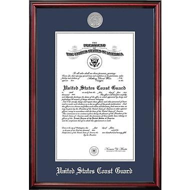 PATF Coast Guard Certificate Petite Picture Frame; 11'' x 14''