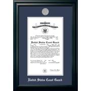 PATF Coast Guard Certificate Picture Frame; 9'' x 14''