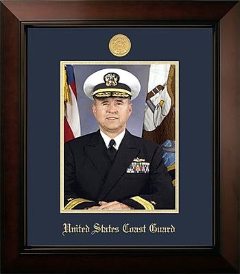 PATF Coast Guard Portrait Legacy Picture Frame; Gold