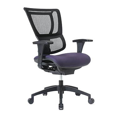 Staples Professional Series 1500TF Chair, Mesh Back & Fabric Seat, Concord