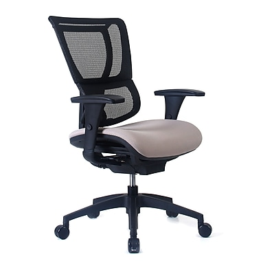 Staples Professional Series 1500TF Chair, Mesh Back & Fabric Seat, Fossil