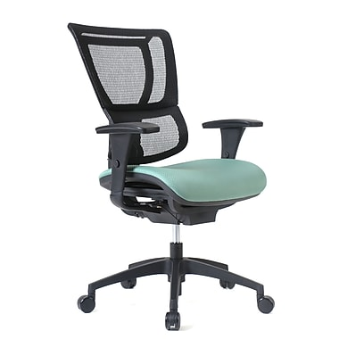 Staples Professional Series 1500TF Chair, Mesh Back & Fabric Seat, Jade