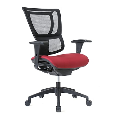 Staples Professional Series 1500TF Chair, Mesh Back & Fabric Seat, Port