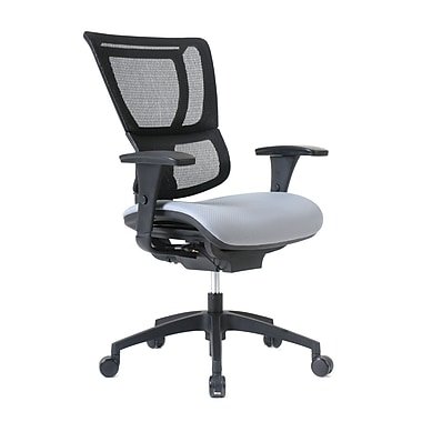 Staples Professional Series 1500TF Chair, Mesh Back & Fabric Seat, Summit