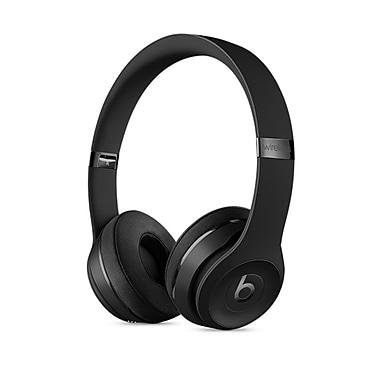 Beats – Casque d'écoute supra-auriculaire Solo3 Wireless, noir (MP582LLA)
