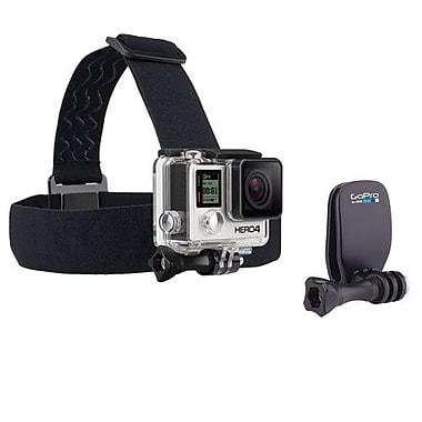 GoPro – Fixation frontale et QuickClip