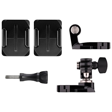 GoPro – Fixation frontale et latérale pour casque