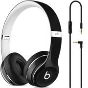 Beats – Casque d'écoute supra-auriculaire Solo2, édition Luxe, noir (ML9E2AMA)
