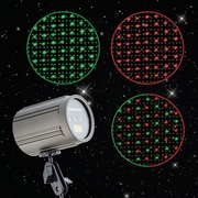 Red & Green Dots - Premium Laser Projection Light w/ Color Isolation & Speed Control