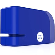 Office + Style Automatic Electric Stapler- Blue