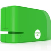 Office + Style Automatic Electric Stapler- Green