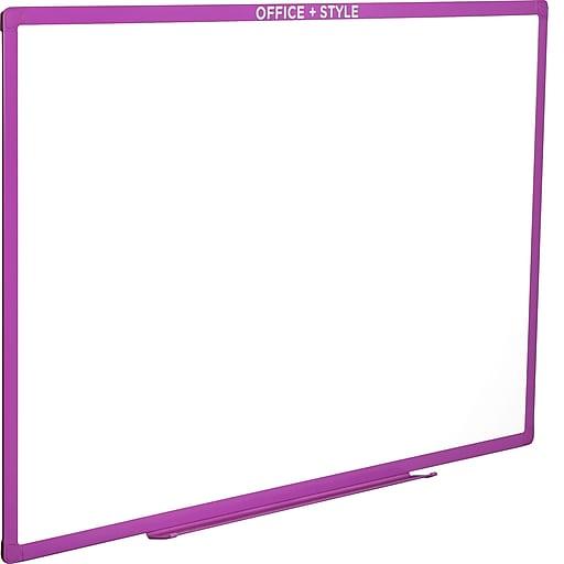 Office + Style 24x36 Whiteboard - Purple