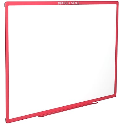 Office + Style 24x36 Whiteboard - Pink