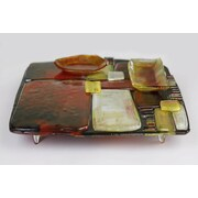 JasmineArtGlass Cheese Plate