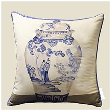 G Home Collection Vase Throw Pillow