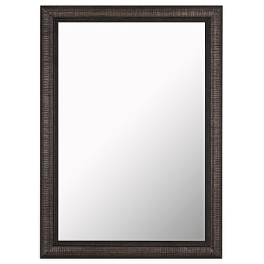 Hitchcock Butterfield Company Textured Stylish Wall Mirror; 37'' H x 27'' W
