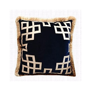 G Home Collection Triomphe Embellished Throw Pillow