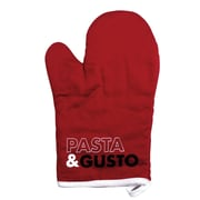 Tiseco Ziczac Pasta and Gusto 2 Piece Oven Mitt (Set of 2)