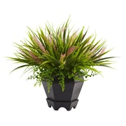 Nearly Natural Grass in Planter