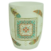 Bacova Guild Southwest Boots Plastic Trash Can
