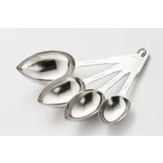 Cook Pro 4 Piece Stainless Steel Measuring Spoon Set