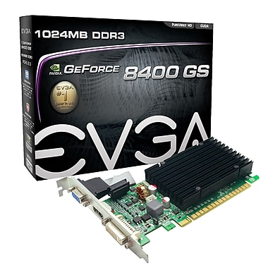 EVGA – Carte graphique GeForce 8400GS 1 Go (01G-P3-1303-KR)
