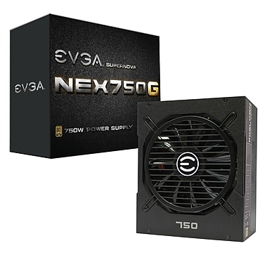 EVGA – Bloc d'alimentation SuperNOVA G1 80 Plus or de 750 W (120-G1-0750-XR)