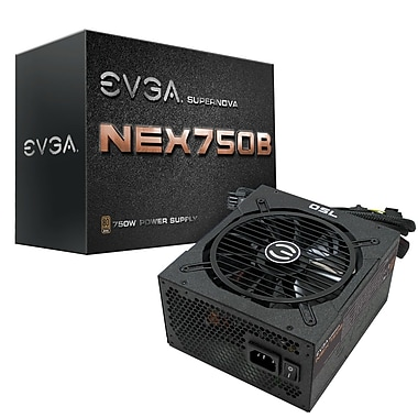 EVGA SuperNOVA B1 750W 80Plus Bronze Power Supply (110-B1-0750-VR)