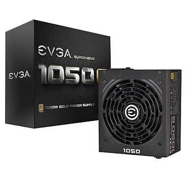 EVGA SuperNOVA 1050W GS 80Plus Gold Power Supply (220-GS-1050-V1)
