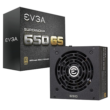 EVGA SuperNOVA 650W GS 80Plus Gold Power Supply (220-GS-0650-V1)