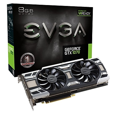EVGA – Carte graphique GeForce GTX1070 8 Go GDDR5 (08G-P4-6171-KR)