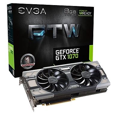 EVGA – Carte graphique de jeu GeForceMD GTX1070 FTW ACX-(08G-P4-6276-KR)