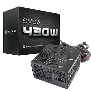 EVGA 430W 80Plus Power Supply (100-W1-0430-KR)