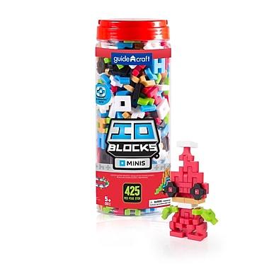 Guidecraft G9612 Io Blocks, ® Minis 425 Pieces, Various Sizes, Multicolour Set