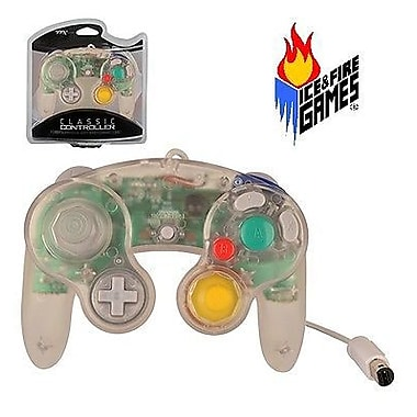 TTX Tech Nintendo GameCube Classic Controller , Clear