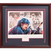 Heritage Hockey – Imprimé encadré, édition limitée de 1999 signée par Wayne Gretzky (20006)