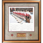 Heritage Hockey O' Canada: Team Canada 1972 Signed Limited Edition Summit Series Framed Print (20015)