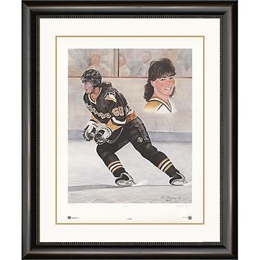 Heritage Hockey Jagr: Jaromir Jagr Signed Limited Edition Framed Print (20029)