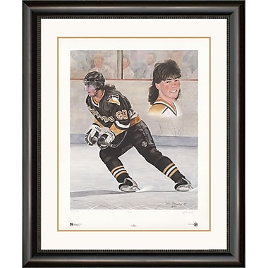 Heritage Hockey – Reproduction encadrée Jagr, édition limitée signée par Jaromir Jagr (20029)