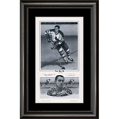 Heritage Hockey The Big M: Frank Mahovlich Signed Limited Edition Framed Print (20035)