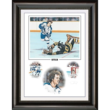 Heritage Hockey Sittler: Darryl Sittler Signed Limited Edition Framed Print (20042)