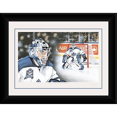 Heritage Hockey The Last Line Of Defense: Curtis Joseph Signed Limited Edition Framed Print (20054)