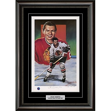 Heritage Hockey Stan Mikita Chicago Blackhawks Signed Limited Edition Framed Print (20090)