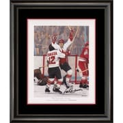 Heritage Hockey Paul Henderson The Goal of the Century Signed & Framed Lithograph (20129)