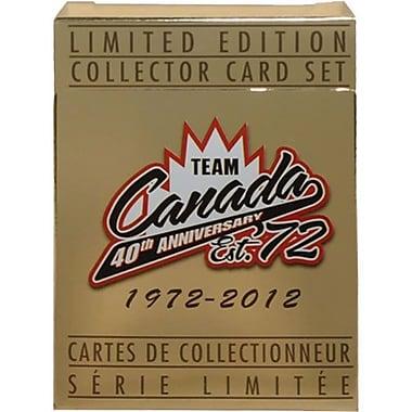 Heritage Hockey – Ensemble de cartes Équipe Canada 1972 40e anniversaire (20302)