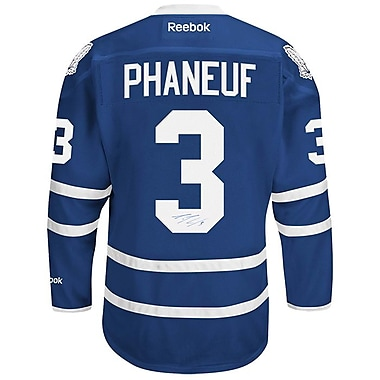 Heritage Hockey Dion Phaneuf Signed Toronto Maple Leafs Jersey (20446)