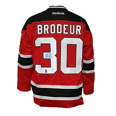 Heritage Hockey Martin Brodeur Signed New Jersey Devils Jersey (20473)