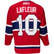 Heritage Hockey Guy Lafleur Signed Montreal Canadiens Jersey (20477)