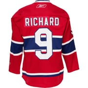 Heritage Hockey Maurice Richard Signed Montreal Canadiens Jersey (20479)