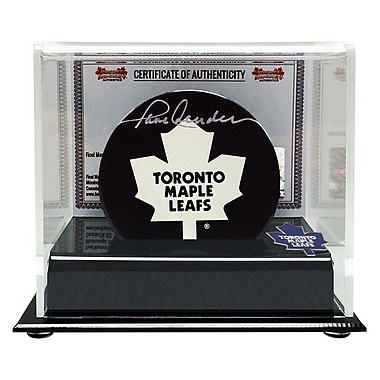 Heritage Hockey Paul Henderson Signed Toronto Maple Leafs Puck (20520)